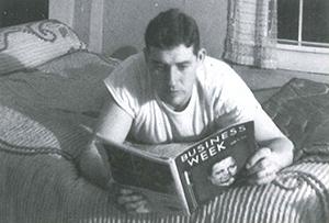 ビルジャック熱心に勉強するビル・ケリー