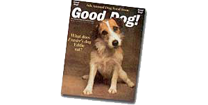 雑誌Good Dog! Magazineの記事